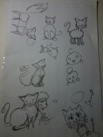 cats and tards by Ammychan92698