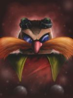 Let's Paint...Dr Robotnik (Eggman) by Reillyington86