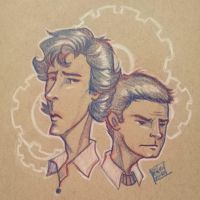sherlock sketch by Peng-Peng