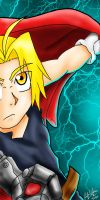 edward elric SHOCK by Zodia2