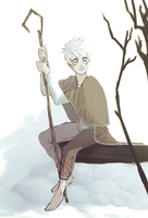 RotG Jack Frost doodle by kingkimochi
