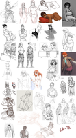 Sketch compilation 6 by FourCG