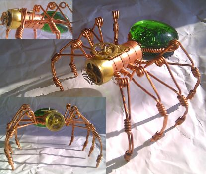 Steampunk Spider by Henri-1