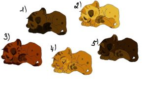 Lion Cub Adopts (3/5 open) by Ruruca