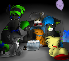 :. Happy Late Birthday Muu .: by Chiiboo