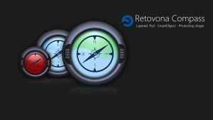 Free Compass Psd by sharkurban
