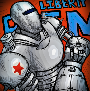 LIBERTY PRIME IS DONE by POORK