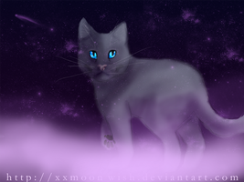 Bluestar's Final Resting Place by xxMoonwish
