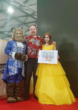 beauty and the beast cosplay With  Philo Barnhart by Zuoying