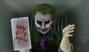 Joker from Prison by Bohy