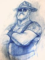 Sergeant Slaughter. Warm up by Dyadrov