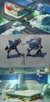Some game concepts by JimHatama