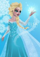 Elsa by Spidertof