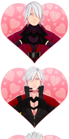Devil May Cry - Happy Valentine's Day! by hwshipper