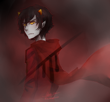 Homestuck - Knight of Blood by Rika-Wawa