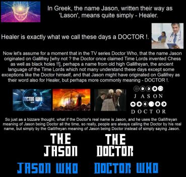 Doctor Who / Jason Who - A Bizzare Theory by DoctorWhoOne