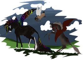 12 feathers  by Kryptic-Stable-Nordy