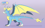 Icelectric Redesign Concept - Fullbody by IcelectricSpyro