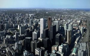 CN Tower Wide Angle  1920x1200 by PrimalOrB
