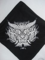 Foo Bandana print 2 by missmonster