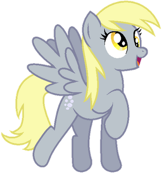 Derpy Hooves by RenreiChan