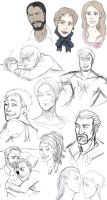 Sketches, Sketches, everywhere by M-I-D-S