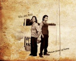 We are LOST - Des,Sayid by FirstTimeLady