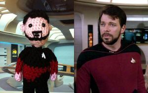 Li'l Trekkies- Commander Riker by smapte