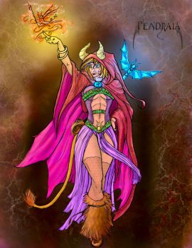 Pendraia Colored by Wolkenfels