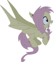 Flutterbat vector by AmoraWolf