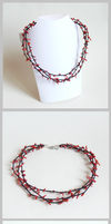 Coral Reef Necklace by Arleen