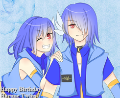 .:Happy Birthday Harune Twins!:. by VanyRin-Chii076