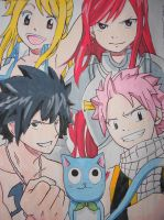 The Best Guild in Fiore: Fairy Tail :D by master-cartoonist
