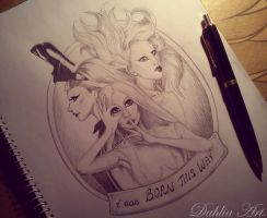 Lady Gaga - I was Born This Way by LadySayuri