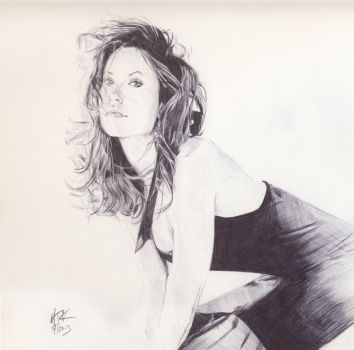 Olivia Wilde Sketch by mitchfuboy