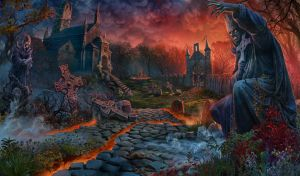 Graveyard 07 by LouieLorry