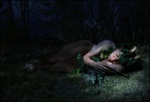 sleeping faun by sgorbissa