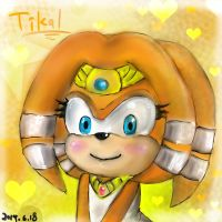 Tikal The Echidna by IJDWTFIW
