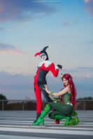 Harley Quinn and Poison Ivy by AlexysCosplay