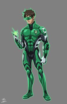 Aclipes Green Lantern commission by phil-cho