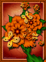 Marigolds by Liuanta