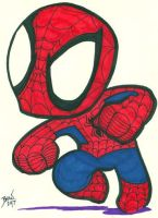 Chibi-Spider-Man 13 by hedbonstudios