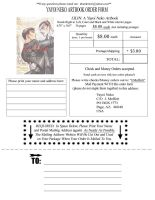 LILIN Artbook Order Form by Thundertori