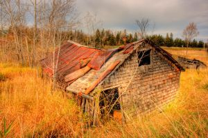 HDR Old Barn 3 by Nebey