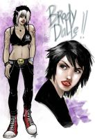 Brody Dalle by pumpkinbear