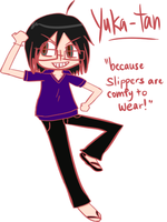 because slippers are comfy by se-rah