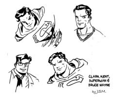 DC quick sketches by JsmNox