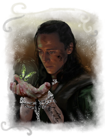Loki-Freedom is a lie by LadyMintLeaf