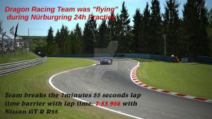 New Lap Record with Nurburgring 24h layout by cynderfan35