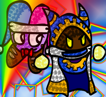 Magolor and Marx by Mdpikachu
